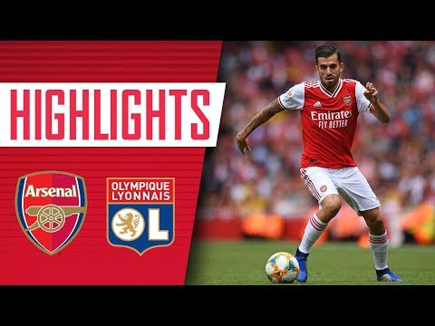 Ceballos Makes His Arsenal Debut | Arsenal 1-2 Lyon | Emirates Cup 2019
