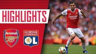 Ceballos makes his Arsenal debut | Arsenal 1-2 Lyon | Emirates Cup 2019