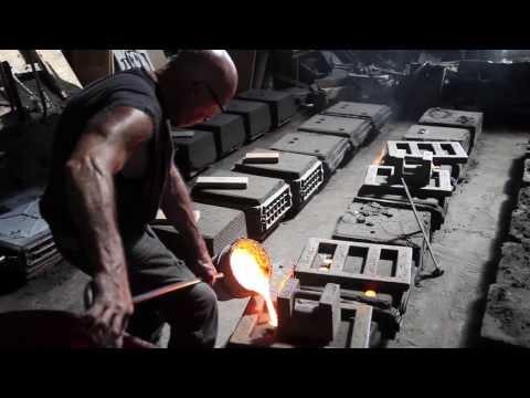 Sunset Foundry Visit (Cast Iron Pour)