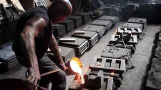Sunset Foundry visit (Cast Iron pour)