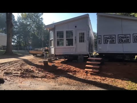 Build a double wide mobile home