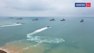 За действиями 10-тысячной военной группировки в Чёрном море следит Сергей Шойгу