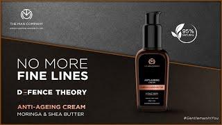 Defence Theory | Anti-Ageing Cream | Moringa & Shea Butter | The Man Company