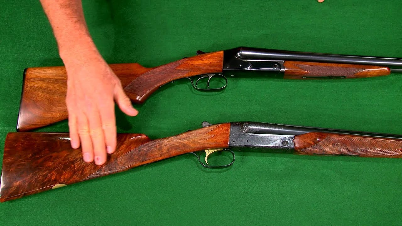 gunsmithing converting a winchester model 21 side by side shotgun