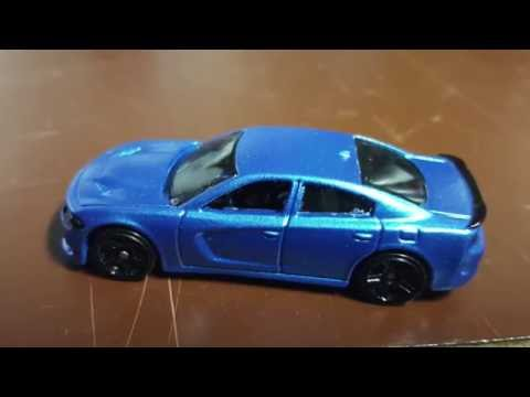 Blue Dodge Charger >> 2015-2016 Dodge Charger Toy Car Color Matching B5 Blue !! - YouTube