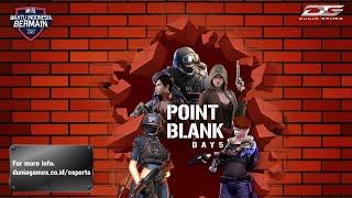 DGWIB: Point Blank Season 2 Day 5 (Big 16)