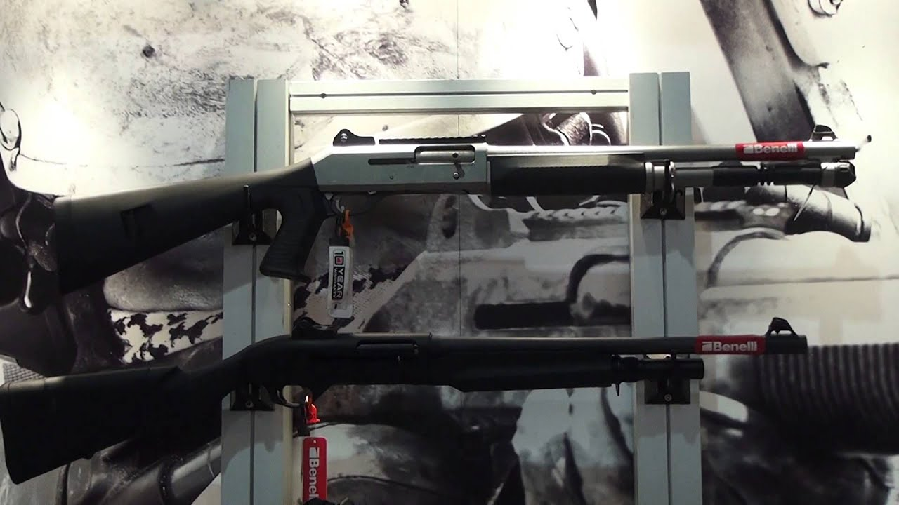 Benelli M2 Tactical Reviews - Shot show 2014 benelli vinci tactical shotgun