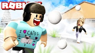 Roblox Kar Topu Savaşı ! Snow Ball Fighting Simulator