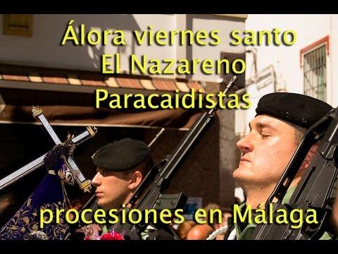 Viernes santo Álora 2016 - Nazareno - Paracaidistas - Semana santa Málaga