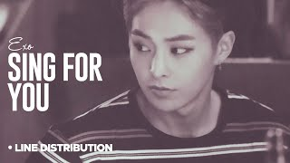 Video EXO - Sing For You: Line Distribution (With Lyrics) download MP3, 3GP, MP4, WEBM, AVI, FLV November 2017