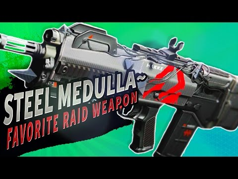 MY FAVORITE RAID WEAPON!  Steel Medulla~ Pulse Rifle | Destiny (Rise of Iron)