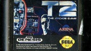CGR Undertow - T2: THE ARCADE GAME review for Sega Genesis