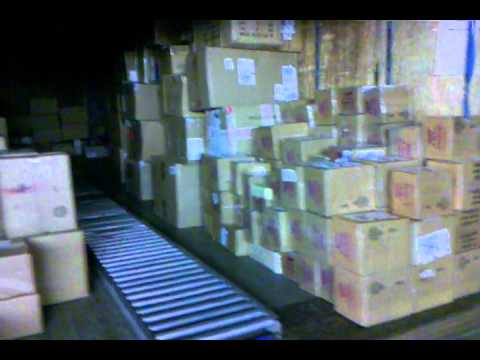 Preload at UPS, a morning in the life of a part timer. - YouTube