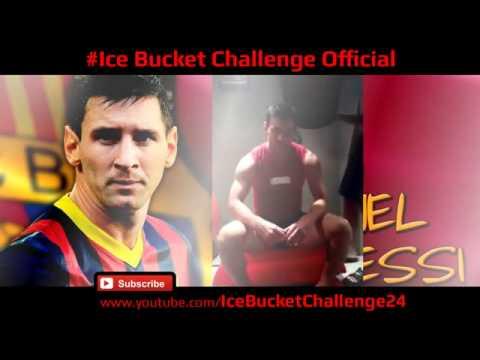 Leo Messi als Ice bucket challenge thumbnail