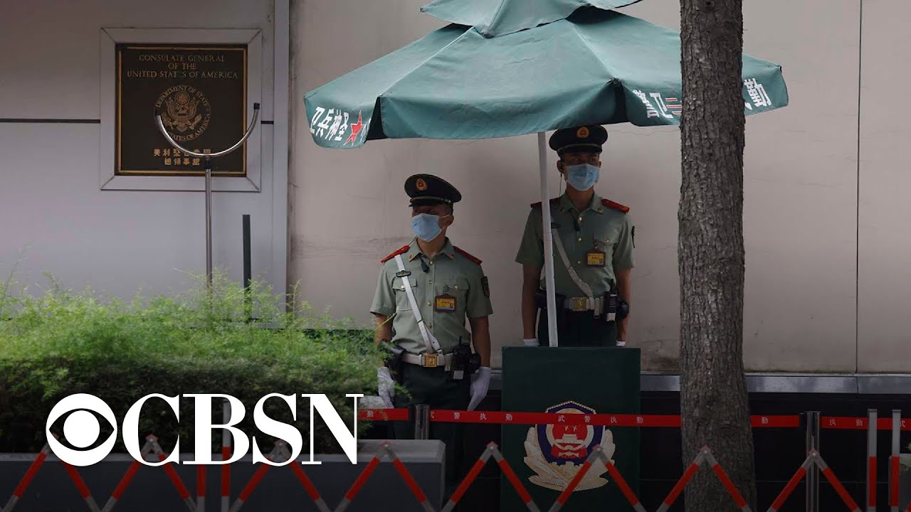 China-U.S. relations reaches lowest point in decades amid consulate closures and arrests – CBS News