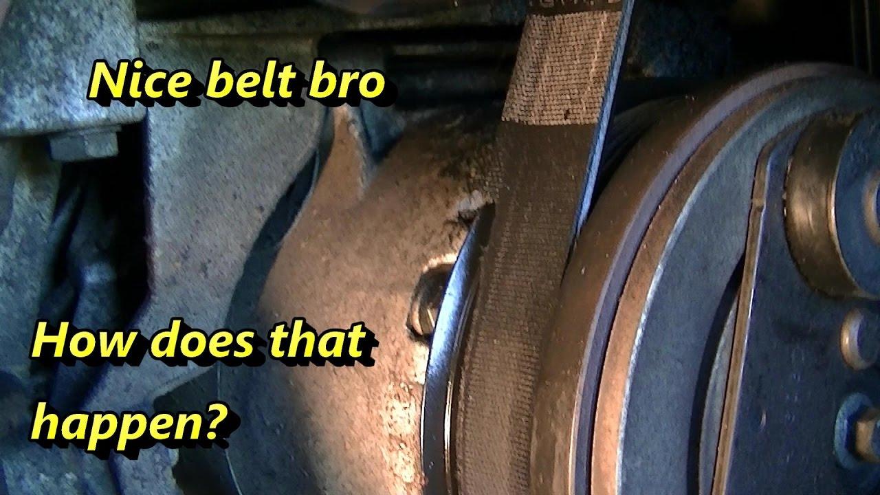 ford focus serpentine belt problems [ 1280 x 720 Pixel ]