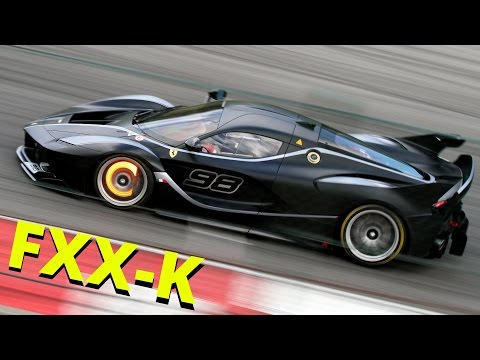 Ferrari FXX-K Madness! - Fly-bys, Downshits & V12 engines Pure Sound!