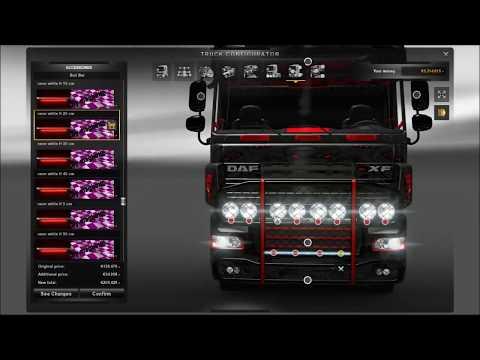 DAF XF Tuning Mod ETS2 (Euro Truck Simulator 2)
