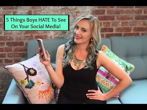Ask Shallon: 5 Things Boys HATE To See On Your Social Media!