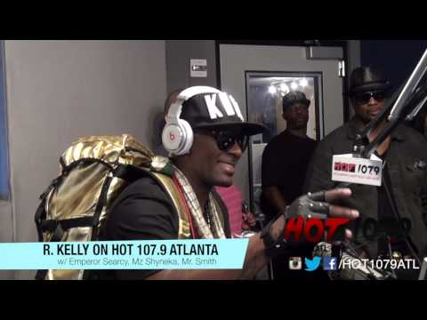 R Kelly Live Performance on Hot 107.9 Atlanta