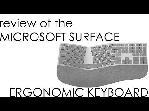 Review - Microsoft Surface Wireless Ergonomic Keyboard