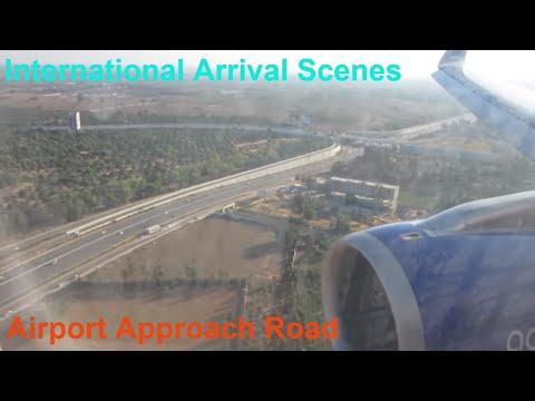 Kempegowda International Airport : Indigo 6E-096 DUBAI - Bangalore Landing & Arrival Scenes