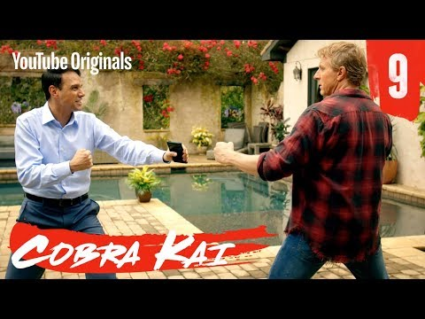 "Cobra Kai Ep 9 - ""Different But The Same"""