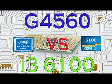G4560 vs i3 6100 - BENCHMARKS / GAMING TESTS REVIEW AND COMPARISON / Kaby Lake vs Skylake /