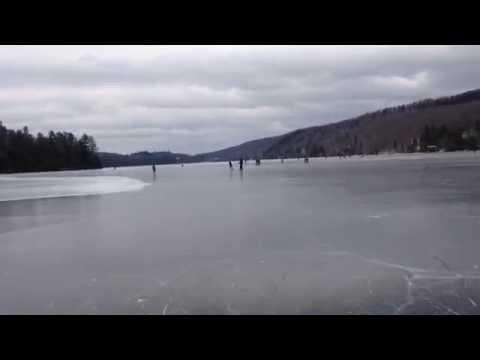 Skating at Meech Lake - New Years 2015 (part 2)