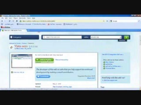 How to make mozilla firefox look like google chrome and internet explorer