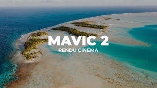 MAVIC 2 Pro : Les MEILLEURS RÉGLAGES pour un RENDU CINÉMA