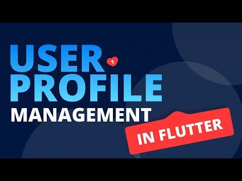 Handle User Profile in Flutter   Firebase User Profile Management