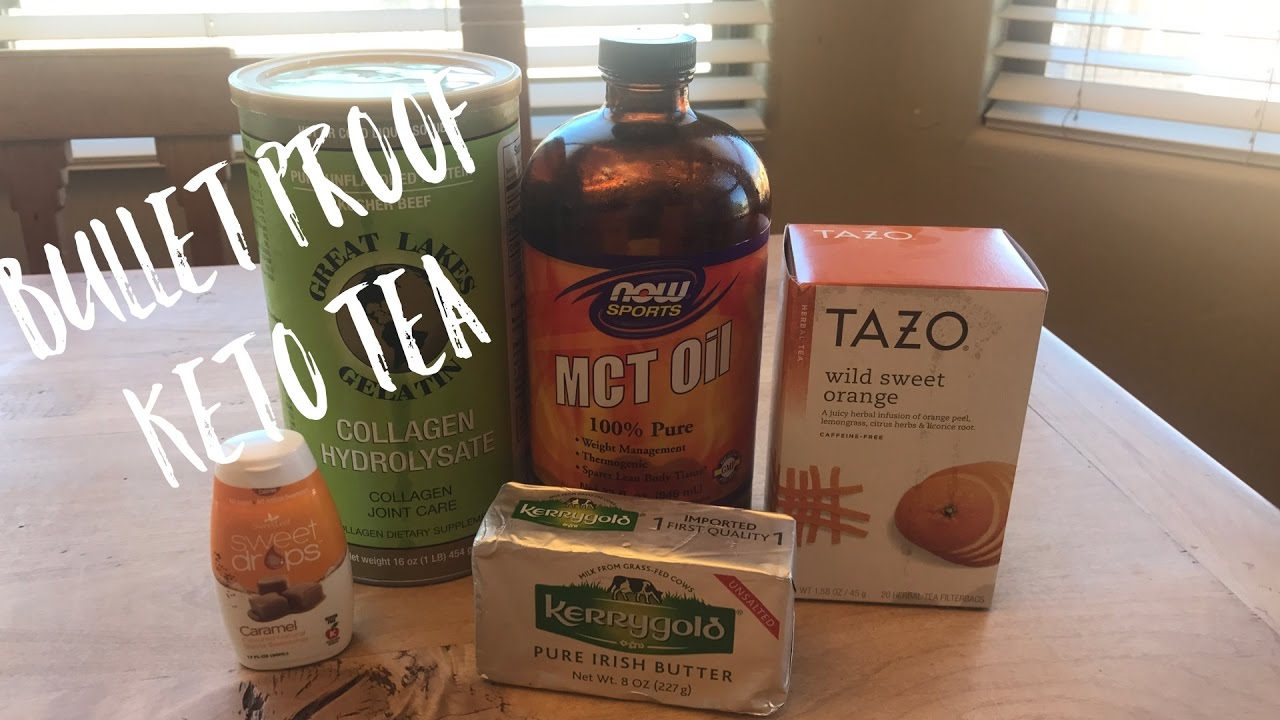 Bulletproof tea weight loss