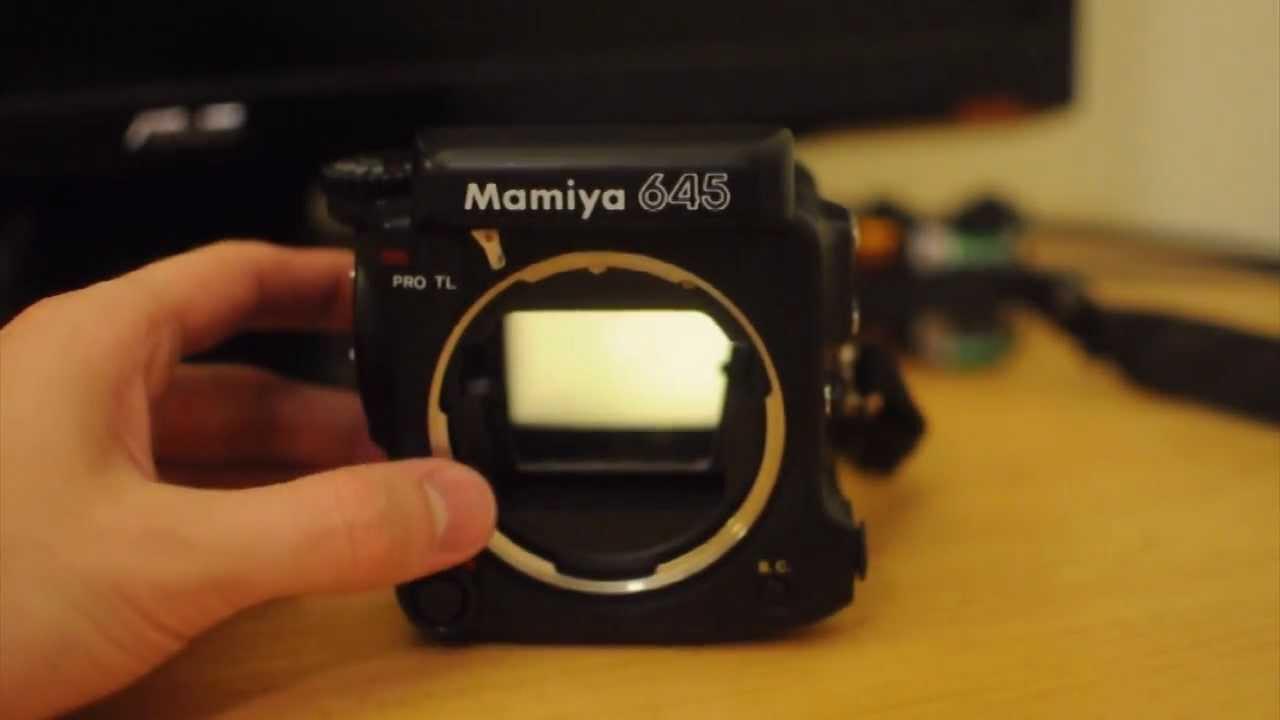 Mamiya 645 Pro Tl 120mm Film Camera