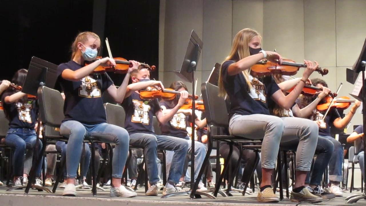 Download Highland 8th Grade Orchestra - Crusader - Doug Spata
