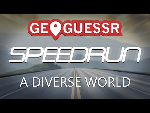[EN] Geoguessr speedrun:  A Diverse World in 11:27