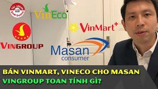 Hot: Bán VinMart, VinEco cho Masan, Vingroup tính gì? M&A khủng nhất 2019