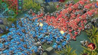 BLUE MINIONS vs RED MINIONS! | Mobile Legends thumbnail