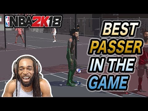 """BEST PASSER IN THE GAME """"CHANGING THE CULTURE IN NBA 2K18"""""""