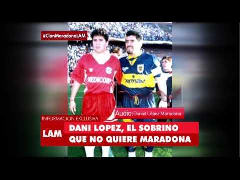 Dani López, el sobrino que no quiere Maradona