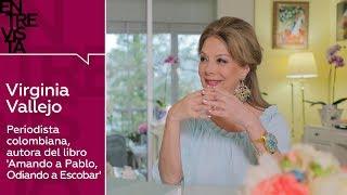 Virginia Vallejo, autora del libro 'Amando a Pablo, Odiando a Escobar'
