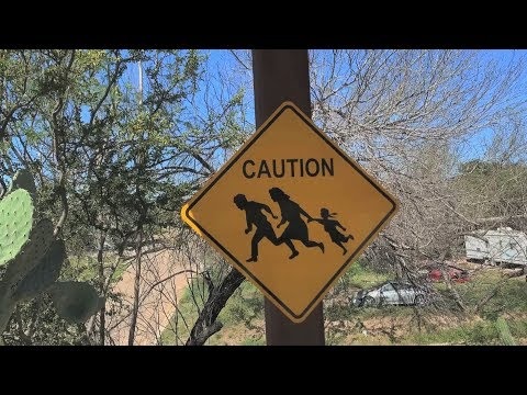 Illegal border crossings