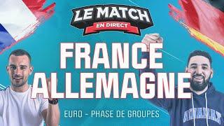 France Allemagne Euro Le Match en direct Football