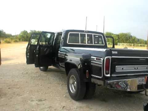 79 Ford Crew Cab For Sale >> 1979 f350 dually durango style - YouTube