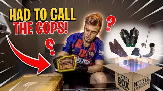 Craziest Dark-Web Unboxing (Dybbuk Box inside) GONE WRONG