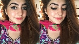 Get Ready With Me | Simple Event / Dawat / Party Make-up Look Using Affordable Make-up