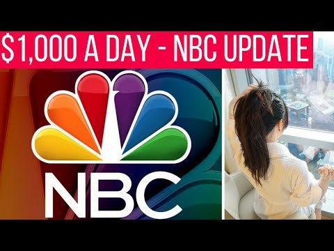 ✈ $1K A Day! NBC Release Forms & Final Interviews! ✈