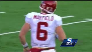 Were Mayfield's antics after Kansas cap...