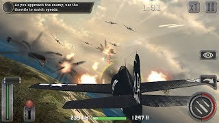 Air Combat Pilot: WW2 Pacific Android Gameplay