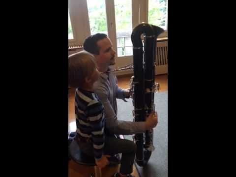Youngest Contrabassoonist of the World